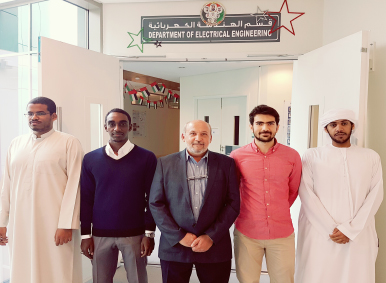 UAEU Engineering Students Scoop 3rd Place at the International Conference on Electronic Devices, Systems and Applications